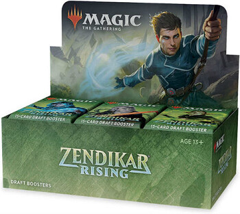Rinascita di Zendikar Draft Booster ENG - Magic: the Gathering