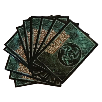 Vampire the Eternal Struggle - 50 Sleeves - Classic Library Design