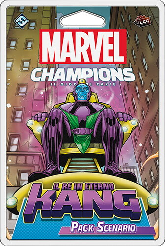 Marvel Champions - Il Re Eterno Kang (Pack Scenario)
