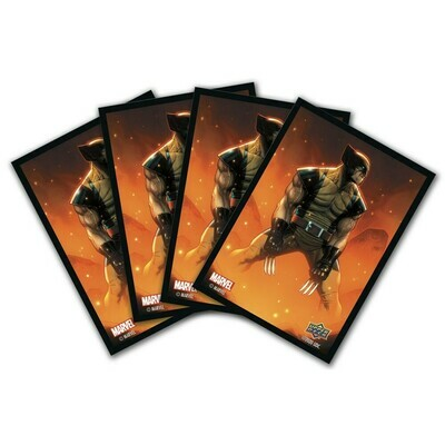 Marvel Card Sleeves - 65 Sleeves - Wolverine