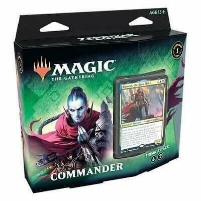 Rinascita di Zendikar Mazzo Commander Sneak Attack ENG - Magic: the Gathering