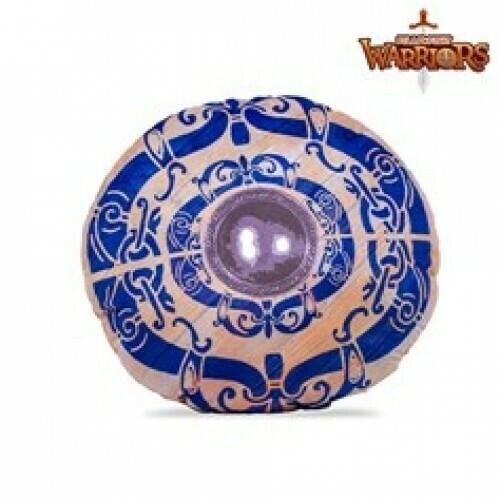 Pillowfight Warriors - Viking Blue Heart Shield