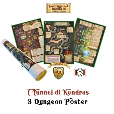 Four against Darkness - I Tunnel di Kendras