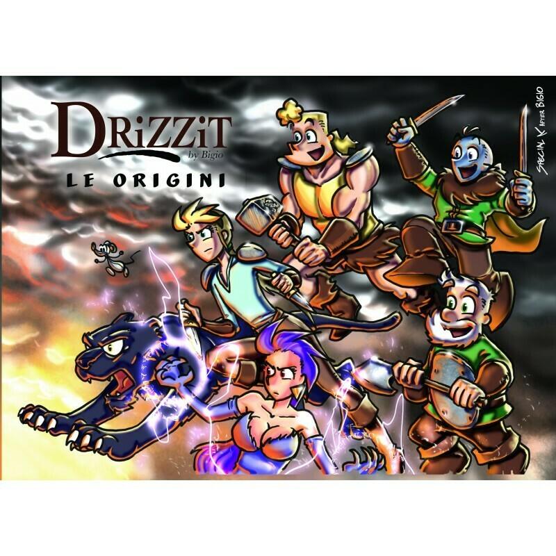 Drizzit 00 - Le Origini