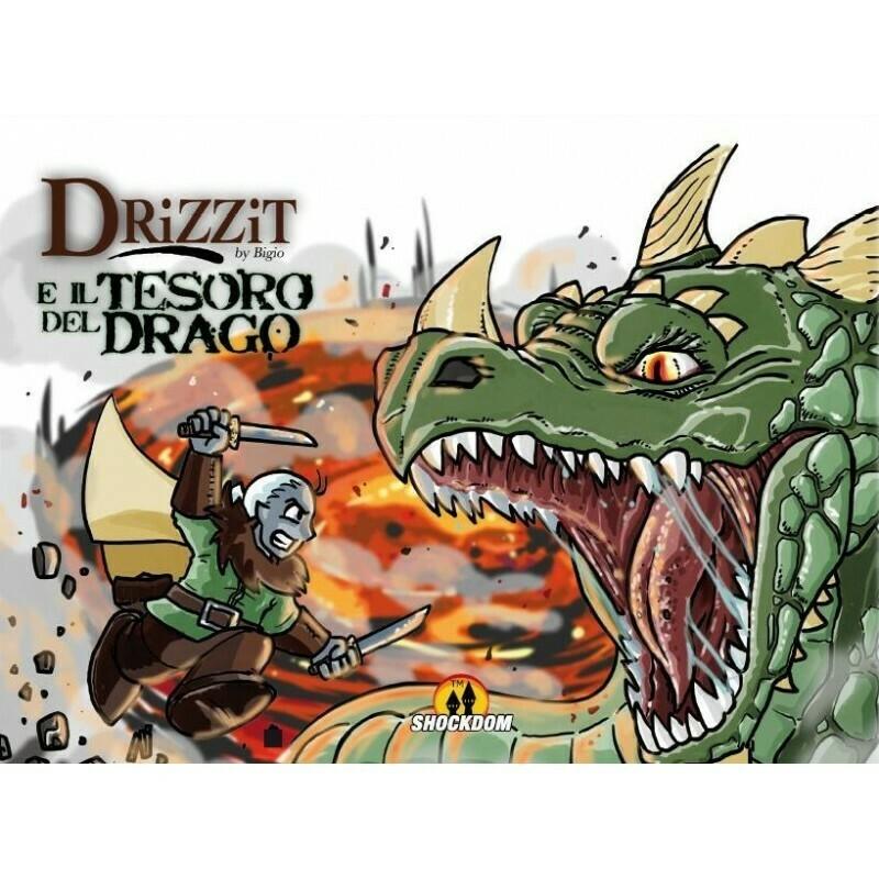 Drizzit 01 - e il Tesoro del Drago