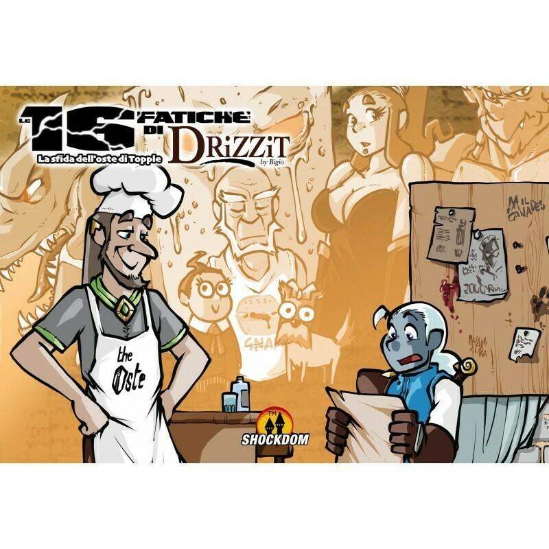 Drizzit 08 - Le 16 fatiche di Drizzit - La sfida dell'oste di Topple