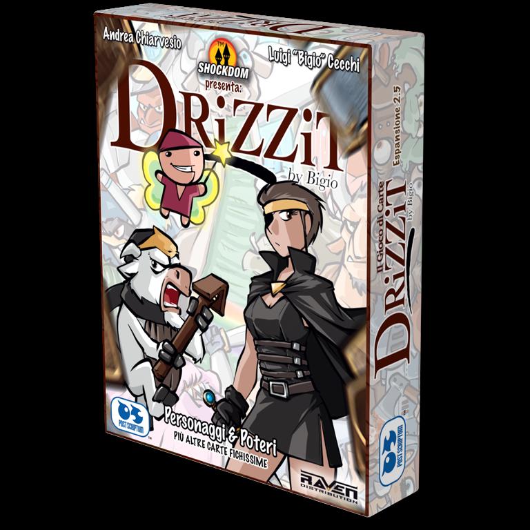Drizzit - Il gioco di carte Espansione 2,5 - Personaggi e poteri