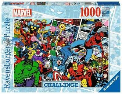 Challenge Puzzle - Marvel 1000p