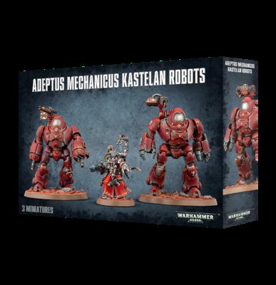 Warhammer 40000: Adeptus Mechanicus Kastelan Robots