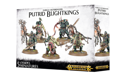 Warhammer Age of Sigmar: Nurgle Rotbringers Putrid Blightkings