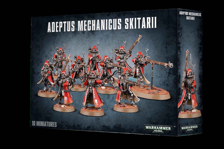 Warhammer 40000: Adeptus Mechanicus Skitarii Rangers / Guardians