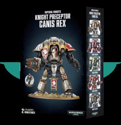Warhammer 40000: Knight Preceptor Canis Rex