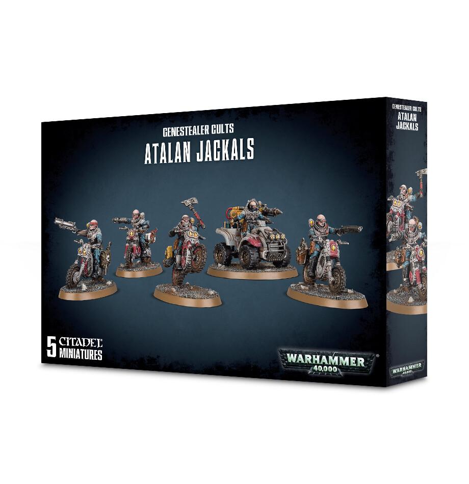 Warhammer 40000: Genestealer Cults Atalan Jackals