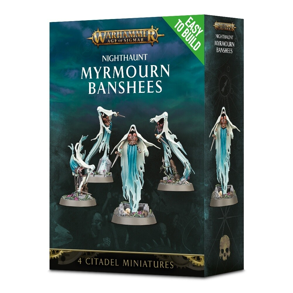 Warhammer Age of Sigmar - Easy to Build: Nighthaunt Myrmourn Banshees