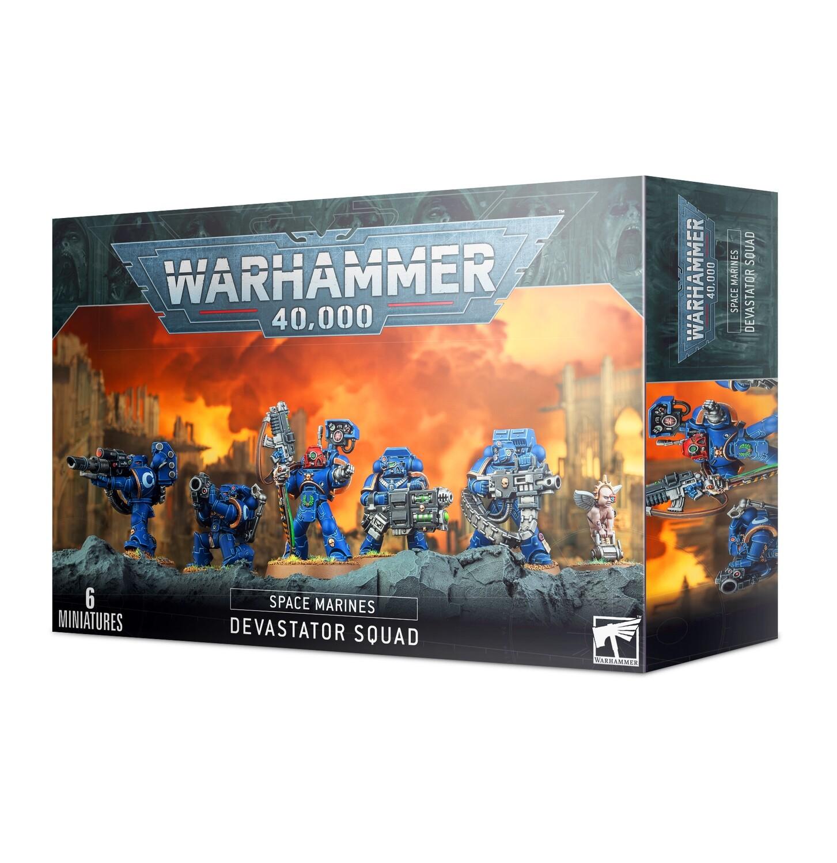 Warhammer 40000: Space Marines Devastator Squad