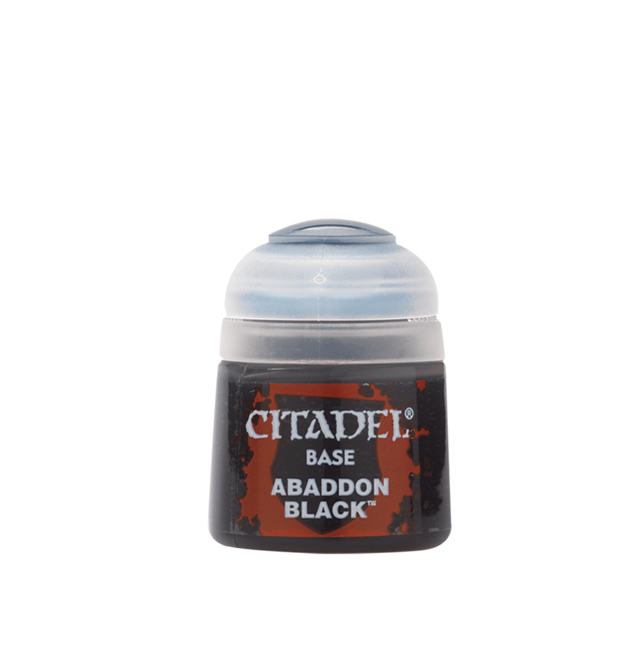 Citadel Colour - Base - Abaddon Black