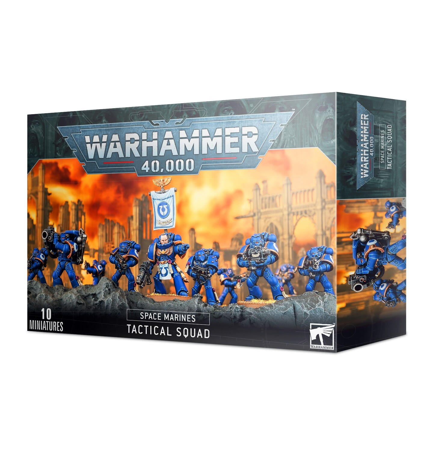 Warhammer 40000: Space Marines Tactical Squad