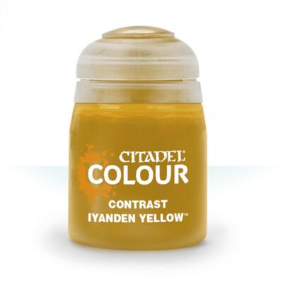 Citadel Colour - Contrast - Iyanden Yellow
