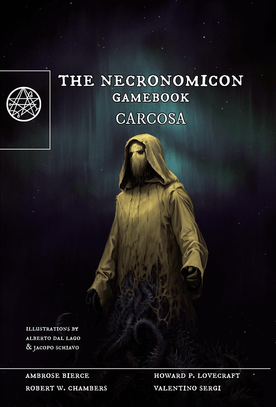 The Necronomicon GameBook: Carcosa Brossurato