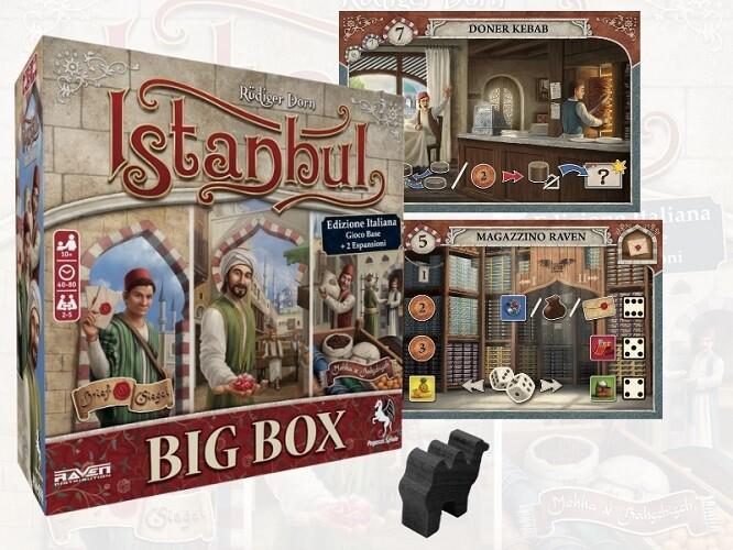 Istanbul Big Box - Edizione Italiana + Espansione, Promo e Cammello