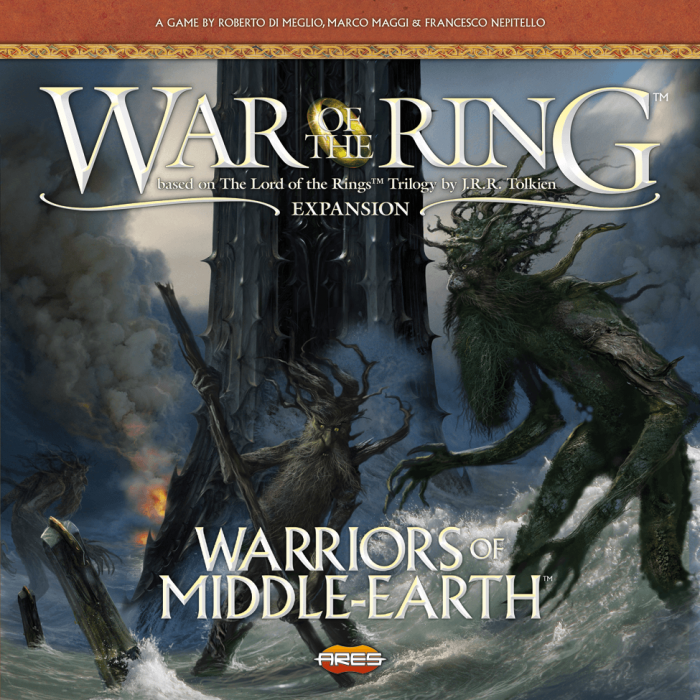 War of the Ring (La Guerra dell'Anello) - 2a Edizione ENG - Warriors of Middle-Earth