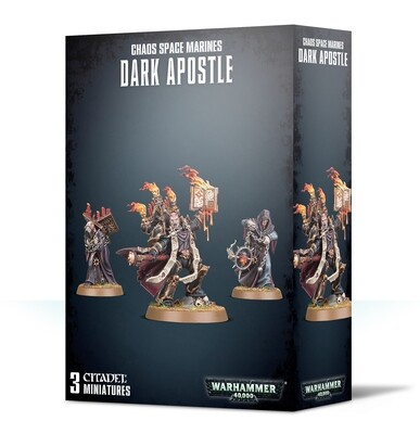 Warhammer 40000: Chaos Space Marines Dark Apostle