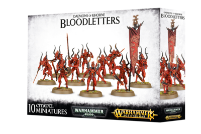Warhammer Age of Sigmar: Daemons of Khorne Bloodletters