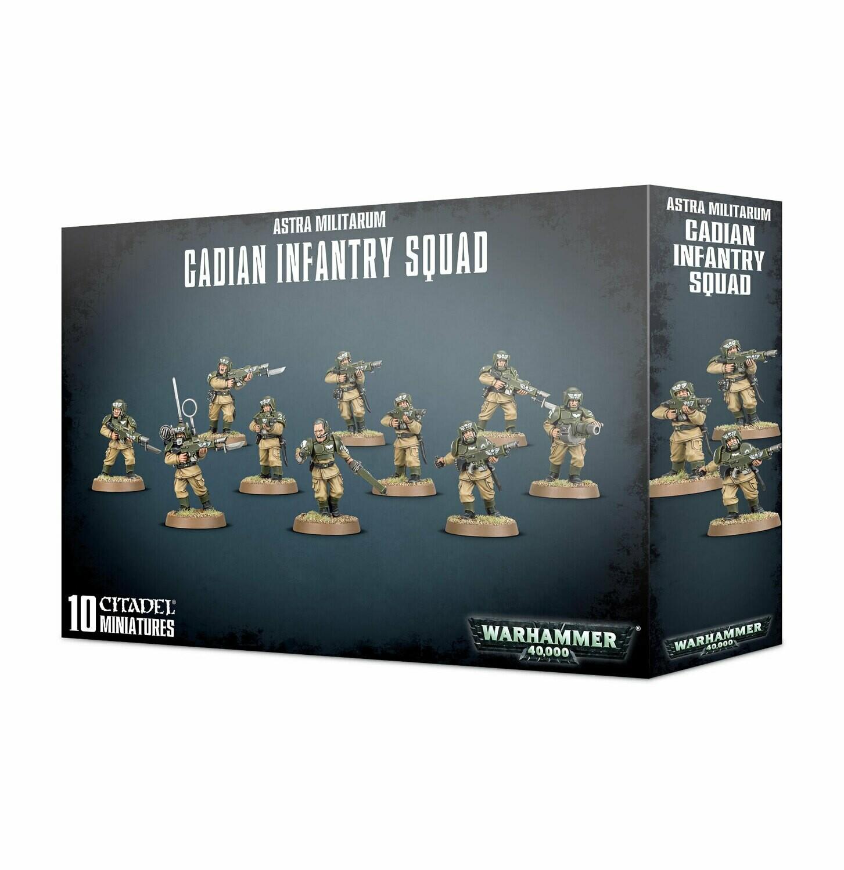 Warhammer 40000: Astra Militarum Cadian Infantry Squad