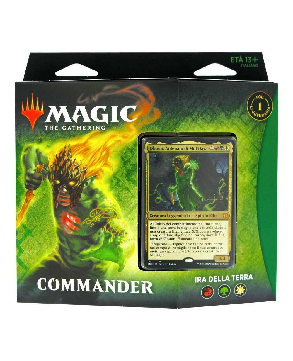 Rinascita di Zendikar Mazzo Commander Ira della Terra ITA - Magic: the Gathering