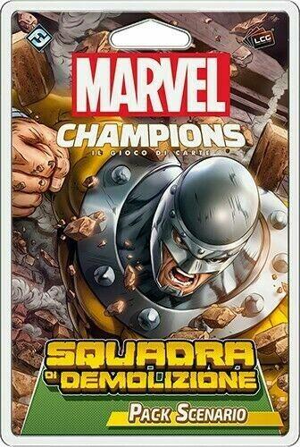 Marvel Champions - Squadra di Demolizione (Pack Scenario)