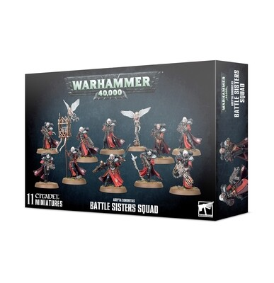 Warhammer 40000: Adepta Sororitas Battle Sisters Squad