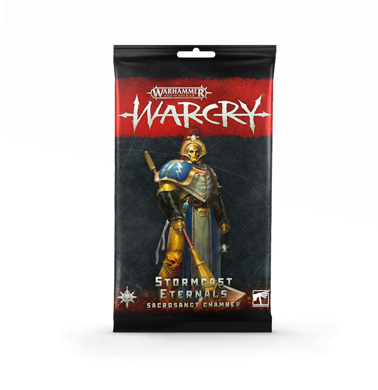 Warcry: Stormcast Eternals Sacrosanct Chamber Cards
