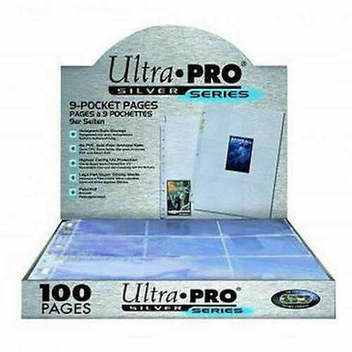 9 Pocket Pages Silver