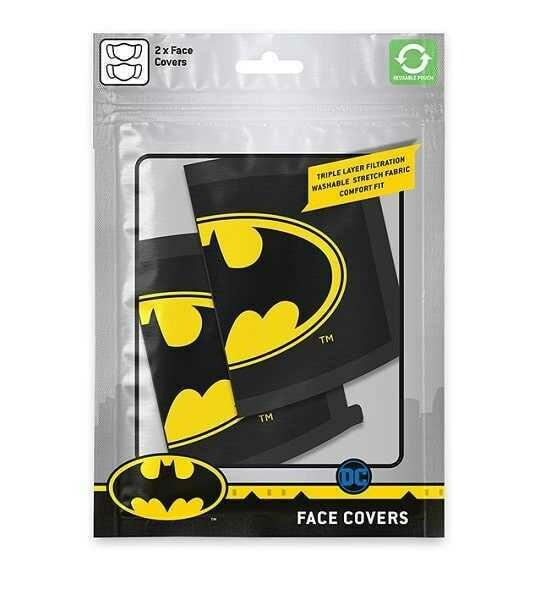 Pyramid Face Masks - Batman (Logo) x2