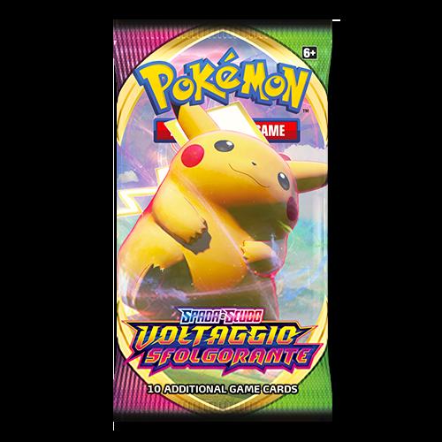 Spada e Scudo, Voltaggio Sfolgorante - Busta - Pokemon