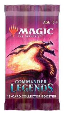Leggende di Commander Collector Booster ENG - Magic: the Gathering