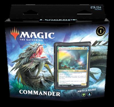 Leggende di Commander Mazzo Commander Mieti Le Maree  ITA - Magic: the Gathering