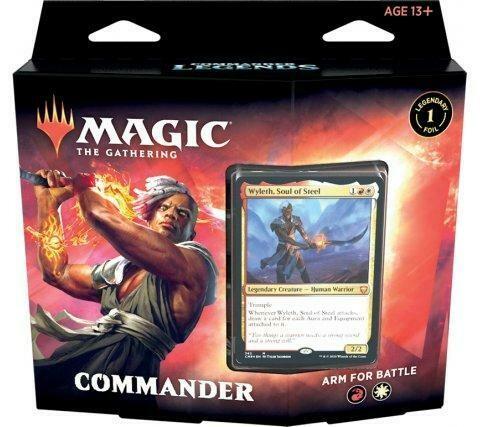 Leggende di Commander Mazzo Commander Arm for Battle ENG - Magic: the Gathering
