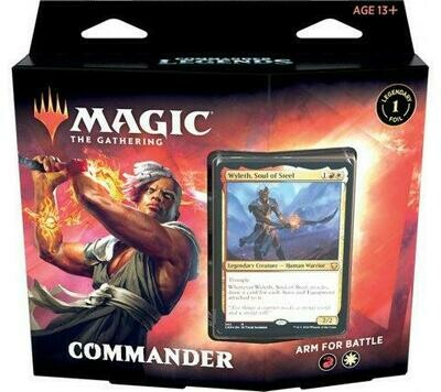 Leggende di Commander Mazzo Commander Arm for Battle ENG - Magic: the Gathering