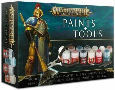 Warhammer Age of Sigmar: Paint Set e Accessori