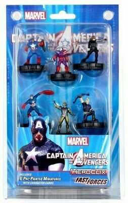 Heroclix - Captain America and the Avengers - Fast Forces