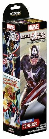 HeroClix: Captain America and the Avengers Booster HeroClix