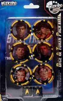 Star Trek Away Teams Dice & Token Pack - Heroclix