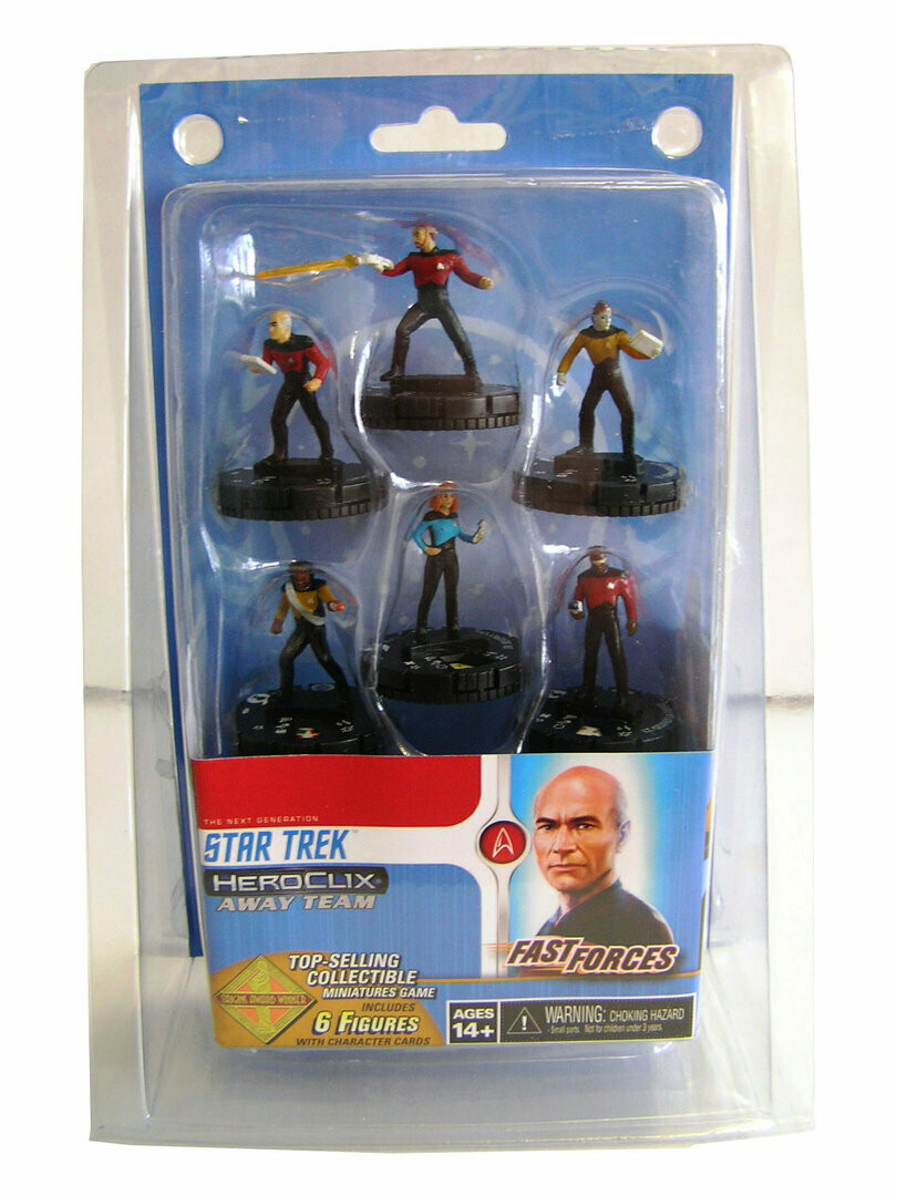 Star Trek HeroClix TNG - Resistance is futile Fast Forces