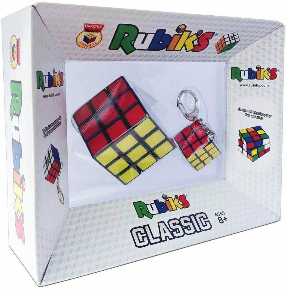 Cubo di Rubik 3x3 + Portachiavi