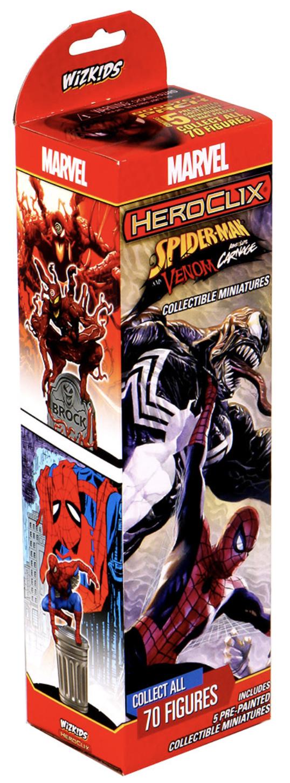 HeroClix - Spider Man & Venom: Absolute Carnage Booster