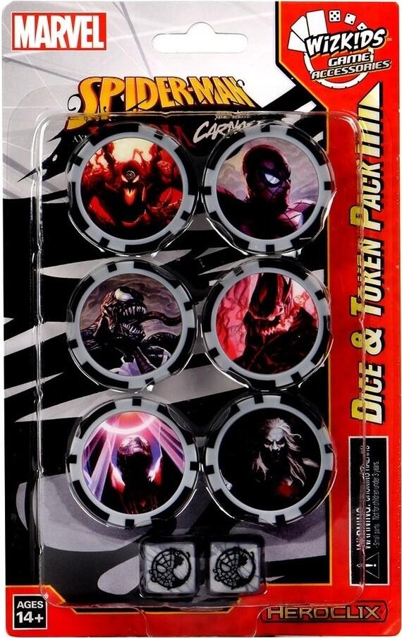 Heroclix - Spider Man & Venom: Absolute Carnage Dice & Token