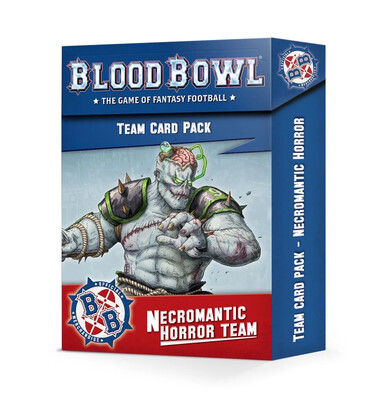 Blood Bowl - Necromantic Team Cards (ENG)