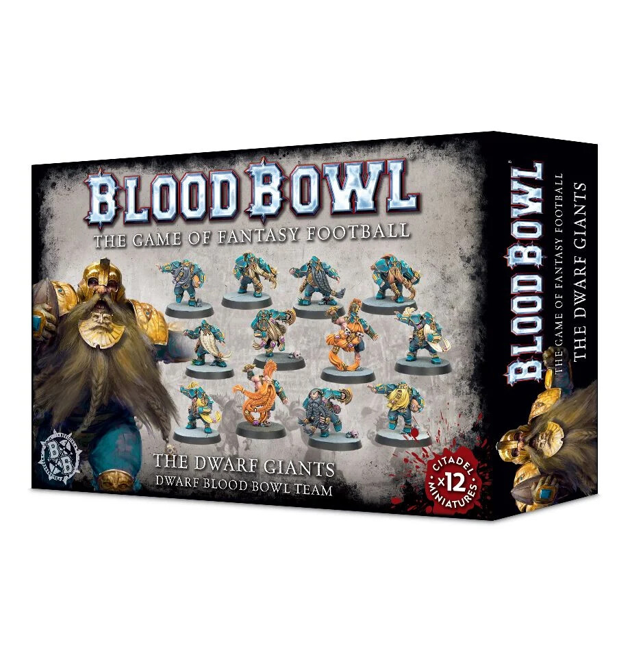 Blood Bowl - The Dwarf Giants Team (ENG)