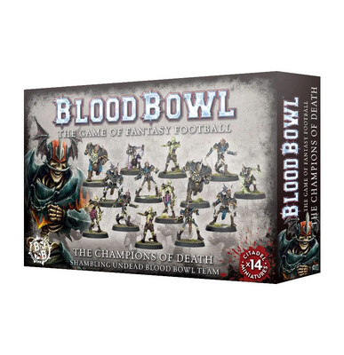 Blood Bowl - Champions of Death Team (ENG)